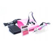 Аппарат для маникюра и педикюра LX500 (розовый), 30000 об/мин
