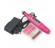 Машинка-ручка soline 20000 об/мин,10 ватт (красно-розовая)