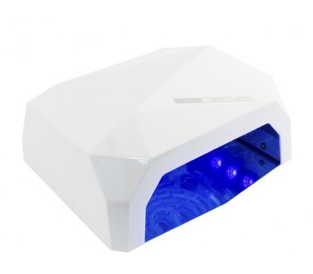 """Ccfl + led лампа 36 ватт cенсорная """"белая"""""""