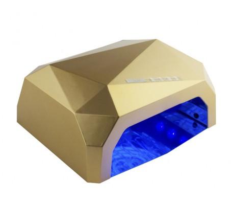 "Ccfl + led лампа 36 ватт cенсорная ""золотая"""