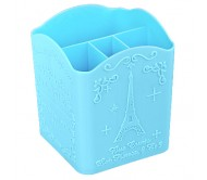 """Подставка для кистей и пилок маленькая """"Париж"""" (голубая)"""